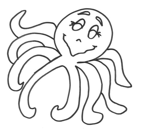 printable octopus coloring pages coloring me