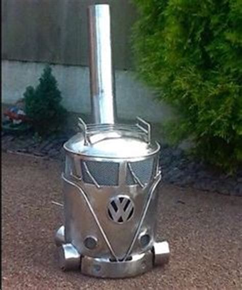 Gas Cylinder Chiminea by Vw Cer Gas Bottle Log Burner Chimenea Chimnea Patio