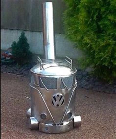 gas cylinder chiminea vw cer gas bottle log burner chimenea chimnea patio