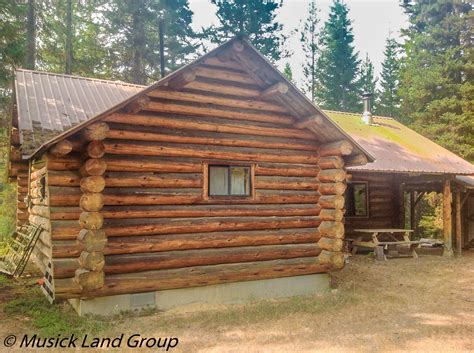 Idaho Log Cabins For Sale by Log Cabin With Acreage For Sale Elk City Idaho Log