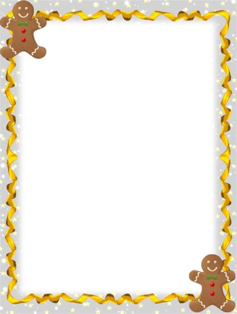 free printable gingerbread man border cool wallpaper galleries and christmas on pinterest