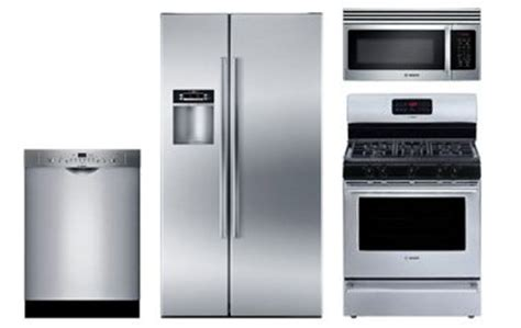 bosch kitchen appliance packages bosch stainless steel appliance package with gas range