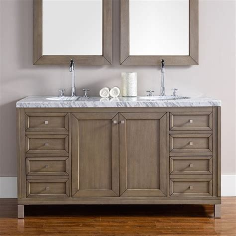 bathroom vanity chicago james martin chicago 60 quot double bathroom vanity in walnut