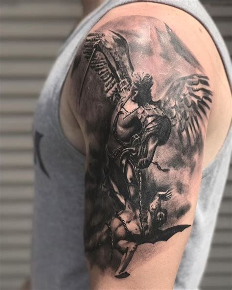 archangel michael tattoo designs best st michael design ideas 2018