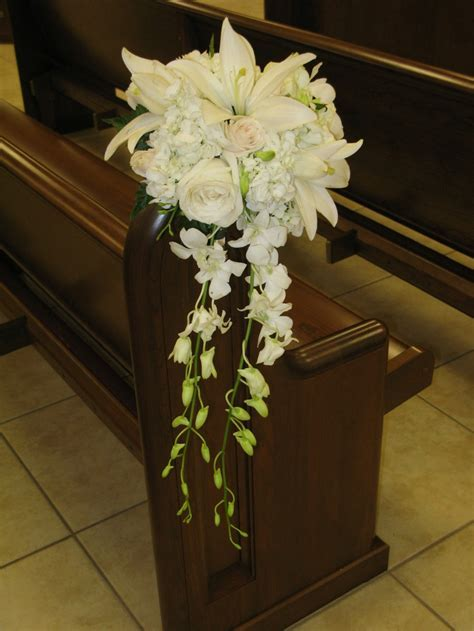 41 best images about Church/Pew Decorations on Pinterest