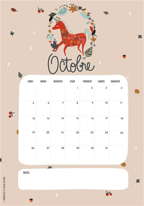 Calendrier D Octobre 2015 Calendriers Mensuels Octobre 2015 Gratuit 224 Imprimer