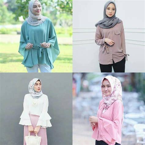 baju muslim modern 18 model baju muslim modern 2018 desain casual simple modis