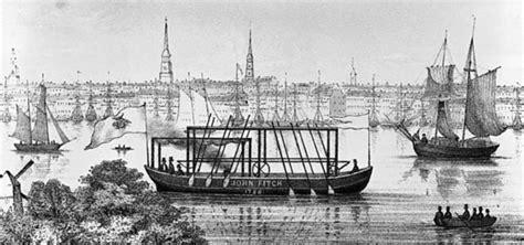 barco de vapor 1787 john fitch john fitch y su barco de vapor historia la revista