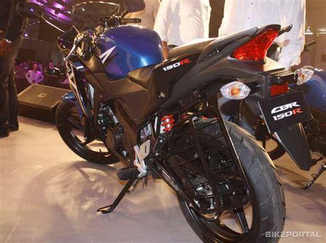 honda 150r mileage honda cbr 150r standard price in india specifications