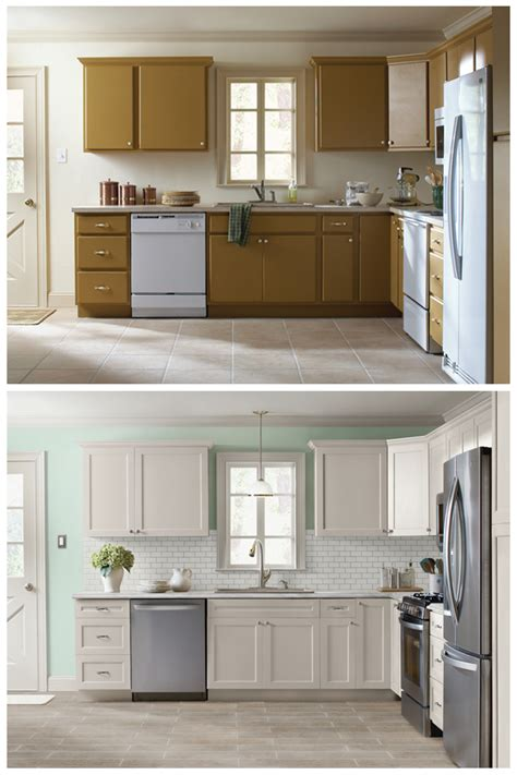 the best part of a kitchen makeover is seeing the before