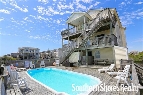 corolla beach house rentals outer banks vacation rentals southern shores realty