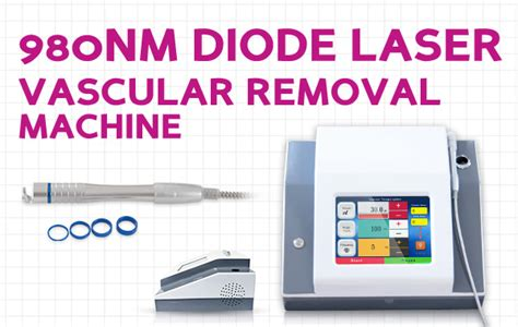 high power laser diode manufacturers high power 980nm diode laser vascular removal machine
