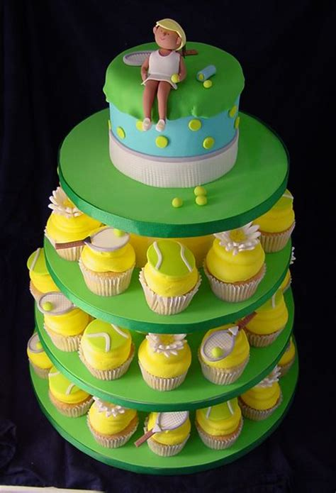 tennis themed cake decorations 50 best wimbledon tennis cake ideas images on