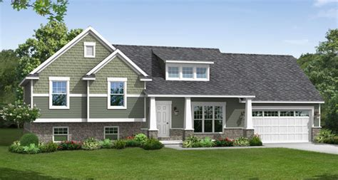 tri level home plans lexington wayne homes