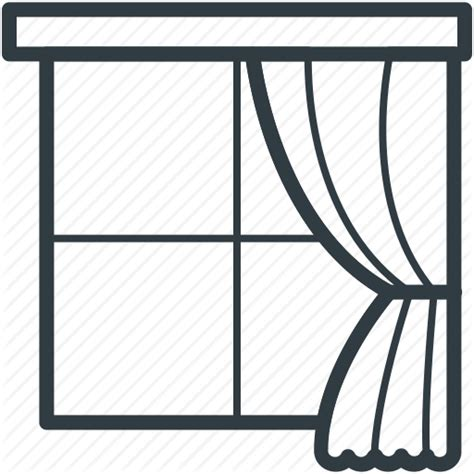 curtain outline curtain indoor window real estate window window frame