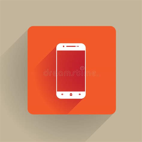 layout editor cell flat cellphone icon stock illustration image 51569002