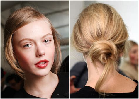 how to pull hair back cute stylenoted from our archives the undone knotted bun