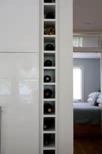 built in wine rack flickr photo