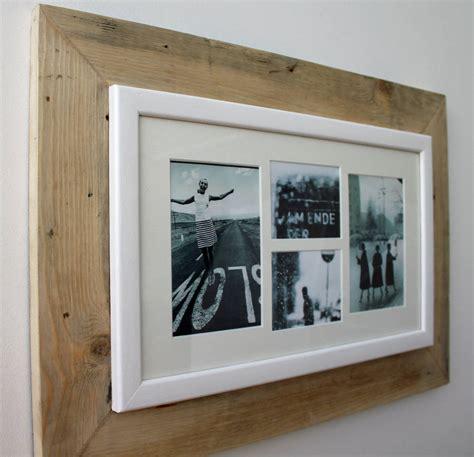 oak photo frame multi aperture photo frames pictures design