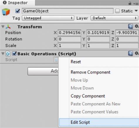 unity tutorial with c unity tutorial csharp05 operations01 ackosmic games
