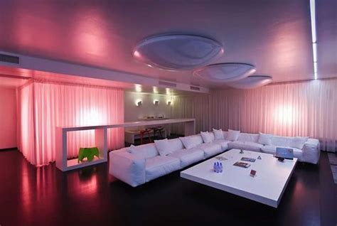 home interior design led lights lighting ideas for living room in modern design style
