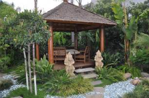 Bali Gazebo Plans by Balinese Garden Native Home Garden Design