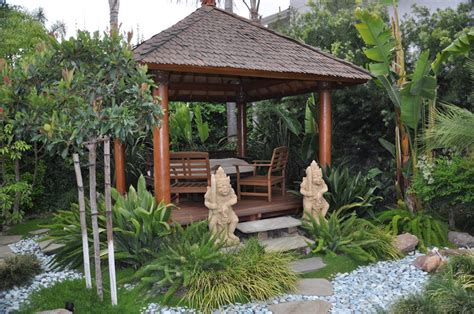 balinese backyard designs gazebo at ubud village and spa inspirations for my balinese garden project