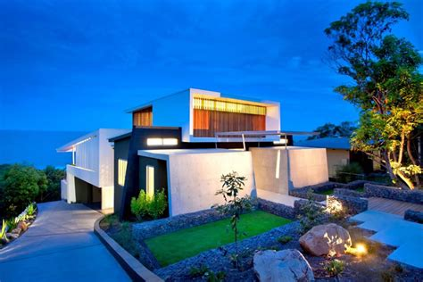 exquisite modern beach house in australia idesignarch beautiful houses coolum bays beach house