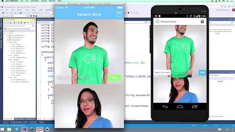 xamarin tutorial vs 2015 developing native ios android and windows apps in c with