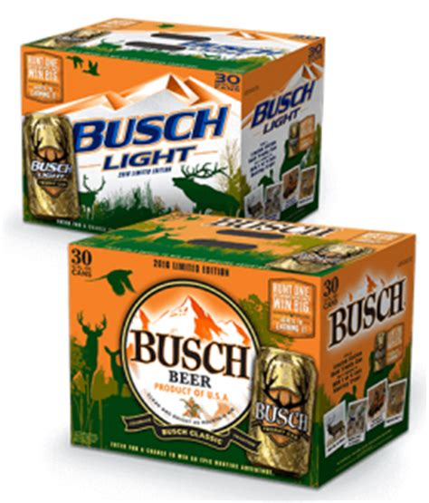 busch light gold can find a gold trophy can 2016 in the busch light hunting game