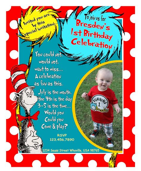 dr seuss birthday card template circus birthday invitation template free clipart best