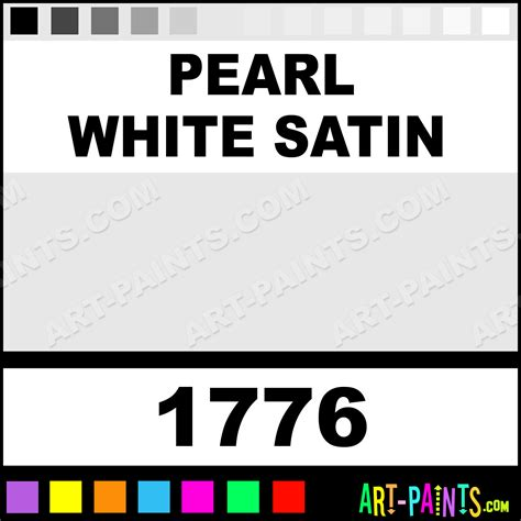 pearl white satin prism acrylic paints 1776 pearl white satin paint pearl white satin color