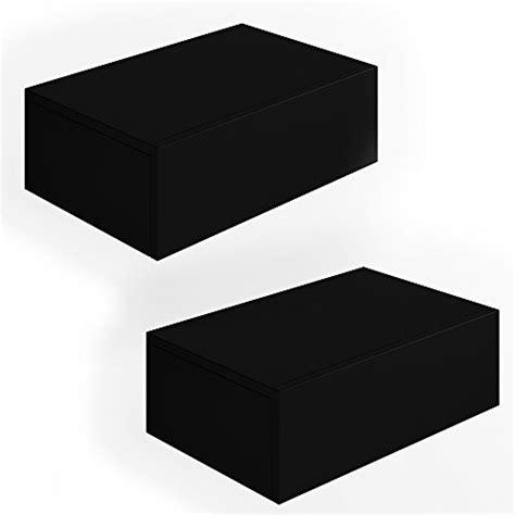 nachttisch schrank schwarz 2x nachttisch kommode nachtschrank schublade ablage