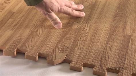 foam tiles wood grain reversible interlocking foam floors youtube