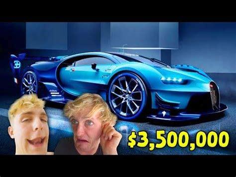 jake paul car top 10 most expensive youtuber supercars logan paul ksi
