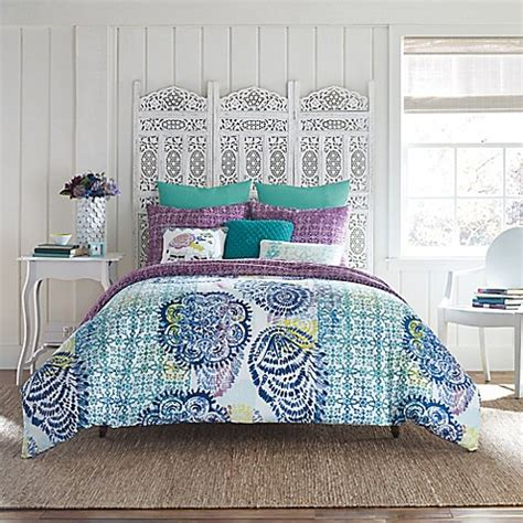 Buy Anthology Willa Twin Twin Xl Comforter Set In Teal Bed Bath And Beyond Xl