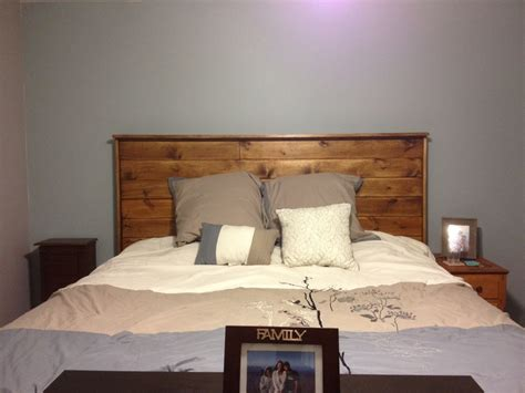 homemade beds homemade headboard for king size bed home decor