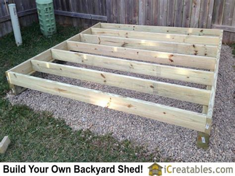 Shed Floor Joists by Pictures Of Backyard Shed Plans Backyard Shed Photos