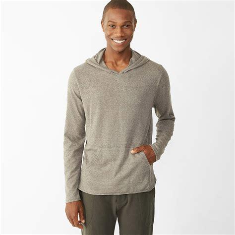 mock two hoodie alternative apparel mock twist hoodie mens apparel at vickerey