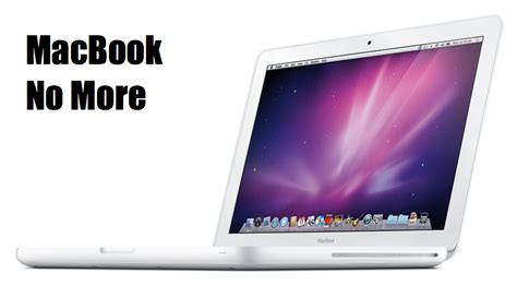 Macbook White 1 1 apple retire the white macbook computing forever archive sources