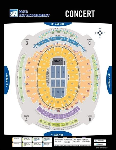 madison square garden floor plan which are the best seats for a concert in madison square