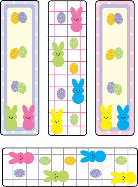 free printable easter bookmarks peepsbookmarks2011 jpg