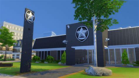 daylesford police station  romerjon productions sims