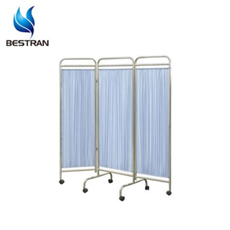Bed Screen Curtain bt cp003 hospital bed screen curtain divider