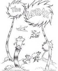 coloring pages of dr seuss the lorax 1000 images about dr seuss and lorax on pinterest