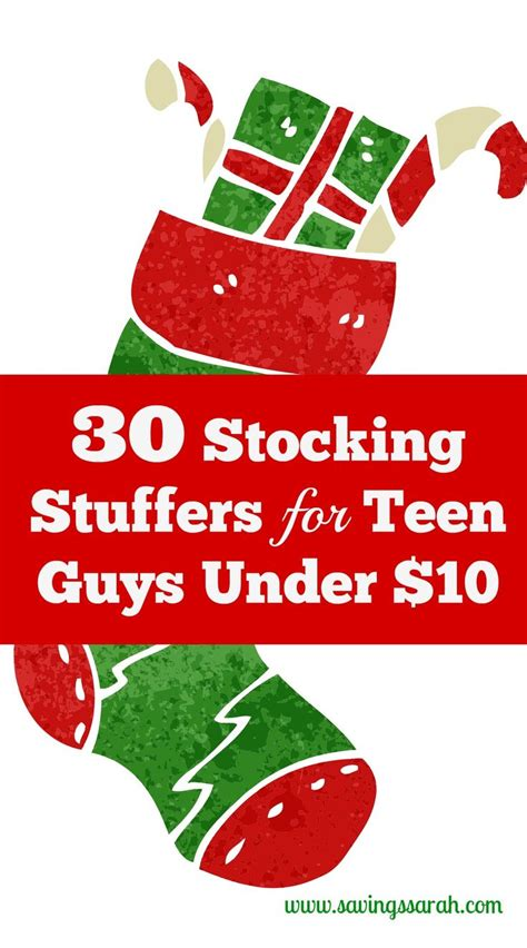 top 30 unique frugal stocking stuffer ideas hip2save 30 stocking stuffers for teen guys under 10 teen guy