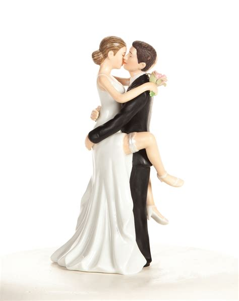 Wedding Figurines by Wedding And Groom Cake Topper Figurine