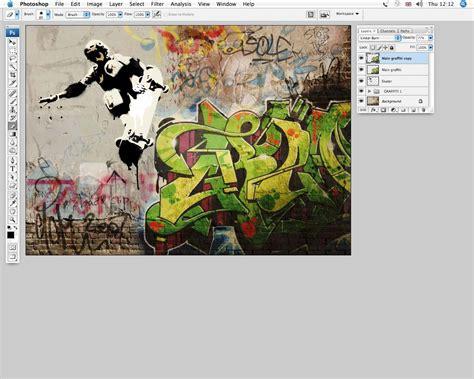 cool graffiti techniques  photoshop digital arts