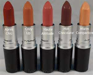 mac lipstick colors and names mac apres chic lipsticks photos swatches and reviews