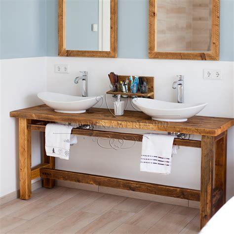 in bagno mobile bagno in legno massello modello beatrice